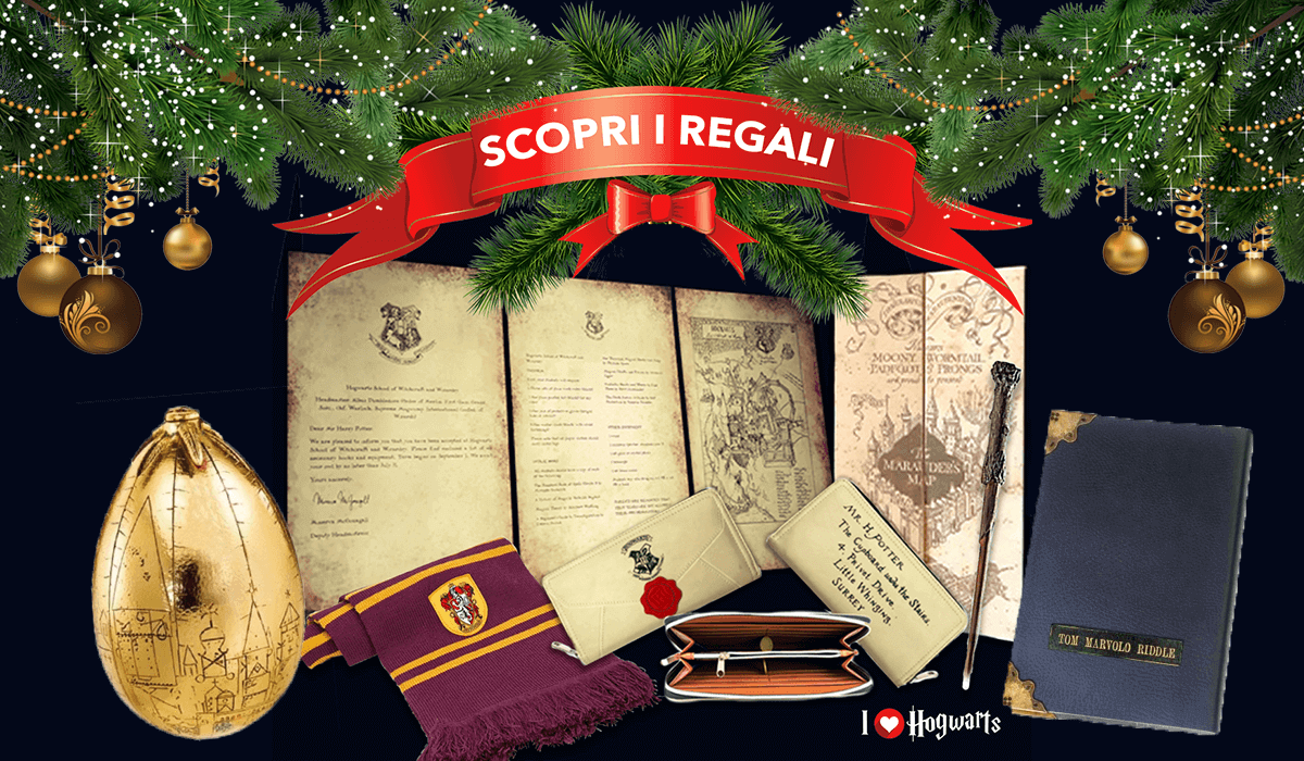 Immagini Natalizie Harry Potter.Regali Di Natale A Tema Harry Potter I Love Hogwarts